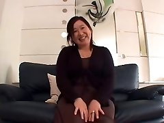 Asian BBW Grandmother Creampie sanae arai 52years