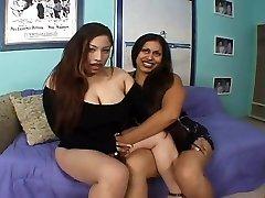 Poison Bombshell - Latina BBW Lesbians