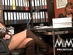 MMV Films Pierced mature wife gets jizz-shotgun