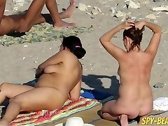 Voyeur First-timer Nude Beach MILFs Hidden Cam Close Up