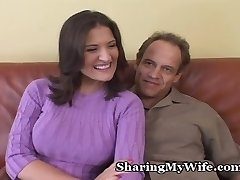Sissy Hubby Has Red-hot Wife