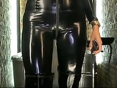 Dannii Harwood Latex Rubber Catsuit