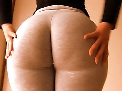 Outstanding Massive Booty Teen! Cameltoe Too! Oh Mama!!