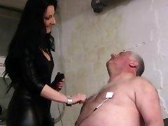 German obese daddy basement femdom