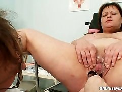 Big tits mummy real obgyn check up