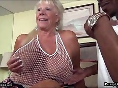 72 year elderly Grandma Craves Thick Black Cock