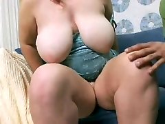 Appetizing young plumper with supreme hangers fucked