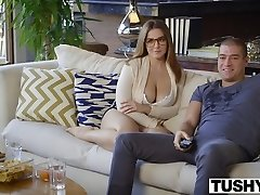 TUSHY First-ever Anal For Curvy Natasha Nice