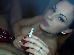 Hotel Whore Enjoys To Smoke And Fuck