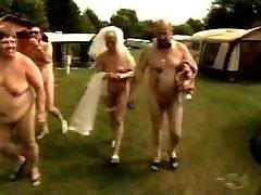 breast amputee bride in nudism camp 2