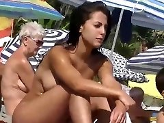 Home D20 - Hot naturist girl at  the beach