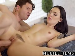 Childminder Marley Brinx Hot Fuck After Wifey Leaves