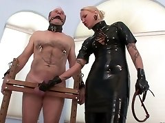 Sounding Sack and Cock Torture