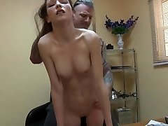 Teen get Shag in the Office Free-for-all In the Office HD Porn 28