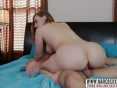 Blonde Step Mom Harley Jade Gives Her Son While Wifey Sleeping