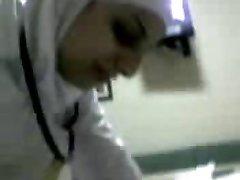 arabic nurse gargle cock