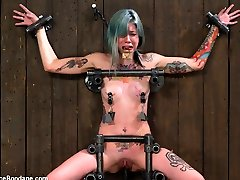 Krysta Kaos in This the Face of Someone Who Can't Stop Cumming Of Someone Not in Manage of Anything - DeviceBondage