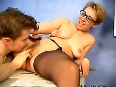 mature russian teacher plowed