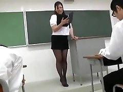 Yuki Sakurai - Magnificent Japanese Teacher 1