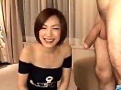 Subtitles - Japanese honey Nene Iino suck dick