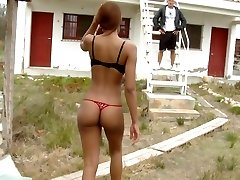 Cuban babe with a Tremendous Backside