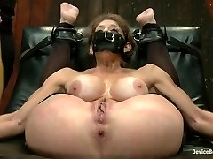 Felony & Bella Rossi & Mz Berlin in Extraordinary immobilization! Felony is at the grace of 2 brutal Doms - DeviceBondage