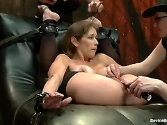 Felony & Bella Rossi & Mz Berlin in Extreme immobilization! Felony is at the mercy of two brutish Doms - DeviceBondage