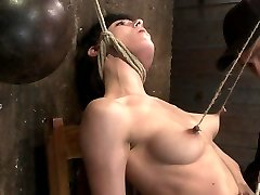 Cruel Nipple Pulling, Slow Strangulation, Extreme Back Archingmade To Jism So Rock Hard, So Often. - HogTied