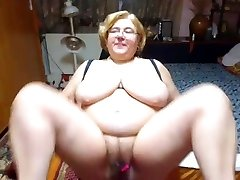 Mature with giant tits
