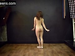 Teen scorching flexible model