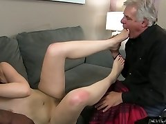 Pretty brunette super-bitch Sarah Shevon cheats on her hotwife husband