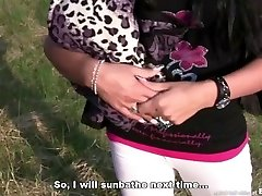 Bitch STOP - Czech chick with ample vag lips