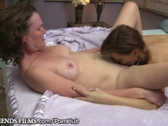 GirlfriendsFilms Lesbian Milfs Make Each Other Moist