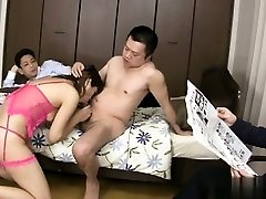 Busty first-timer blowjob master