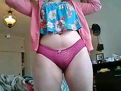 5:50 Ejaculation Chubby blonde teen massive boobs culona pendeja