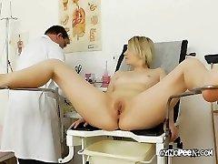 Doc Peaks Deep Inside Graces Pussy
