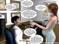3D Comic: The Chaperone. Vignette 27