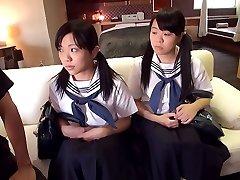 College Girl Threesome - JapansTiniest