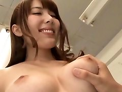 Beautiful teacher's bushy cunt getting fingered and played hard