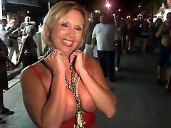 Impressive pornstar in crazy voyeur, group fucky-fucky porn clip