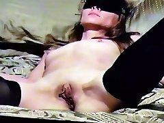 Homemade amateur blindfolded slut squash injection bj