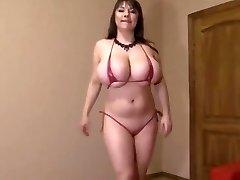 Semantalily red bikini