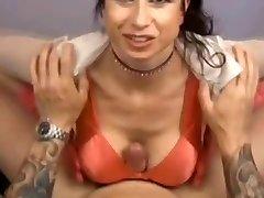 Busty MILF - Point Of View Titfuck Handjob Blowjob