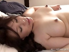 Red-hot mature Asian babe Wako Anto likes stance 69
