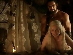 Emilia Clarke: Game of Thrones Nude/Sexy/Super-hot Scenes