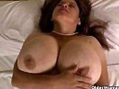 Grandma Brenda&#039_s bingo night turns into a masturbation madness