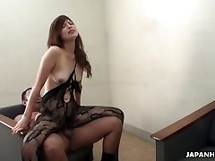 Farmer dame milks and sucks her uncle