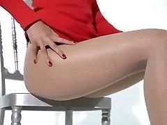 shiny Japanese stockings 2