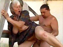 толстые бабушки блять