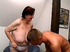 youthfull guy fucks 70 yo ugly fat granny oma